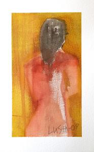 kvinna med handduk